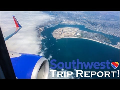 TRIP REPORT - Southwest Airlines (B737-800, B737-700) San Diego CA to Hartford CT