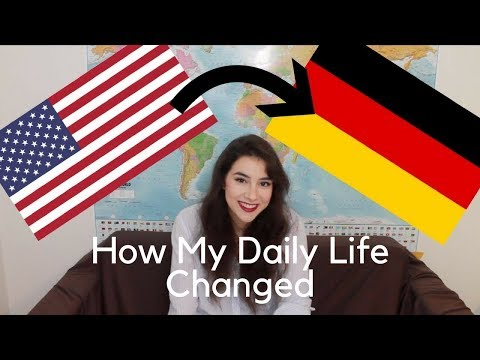 Daily Changes Since Moving from the U.S. to Germany