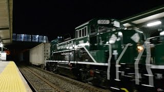 New York & Atlantic Railway PR20Bs on CSX Q431 on the Hudson Line