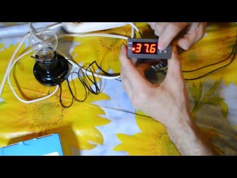 Как настроить терморегулятор MH1210W