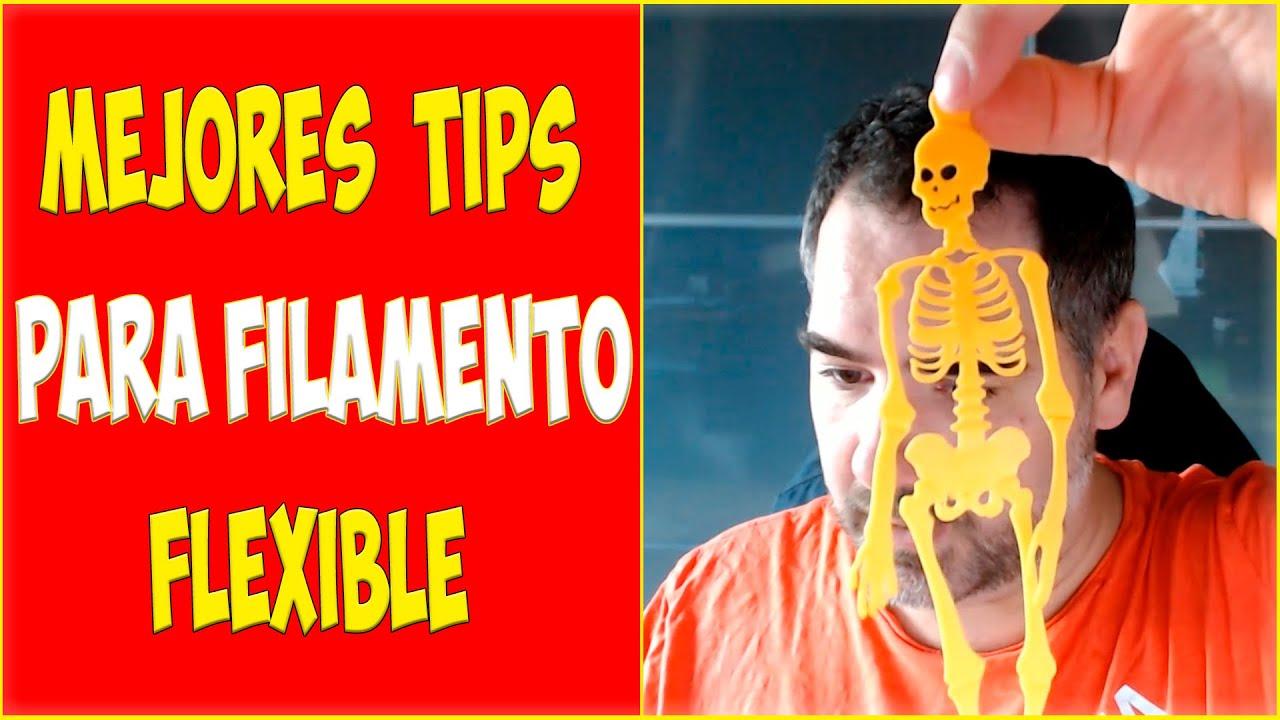 Los MEJORES TIPS para imprimir filamento FLEXIBLE