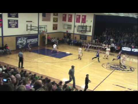 Lake City Basketball 2014-15 Hiawatha Valley League Championship Game Highlights