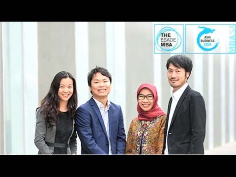 The ESADE MBA: MBASA - Asia Business Club