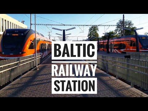 Baltic Railway station in Tallinn, Estonia