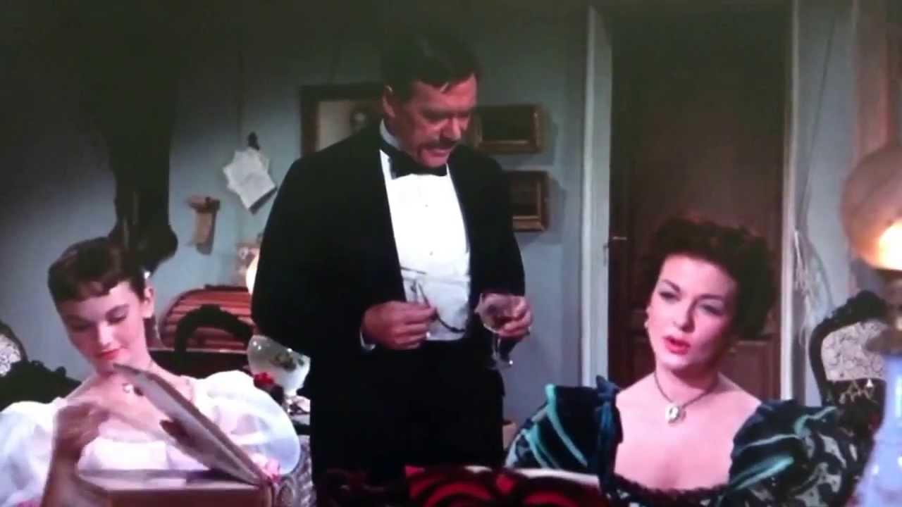 "Joan Bennett sings ""Sentimental Moments"" in WE'RE NO ANGELS (1955)"