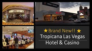 Looks Brand New!! Tropicana Las Vegas Hotel & Casino Tour..