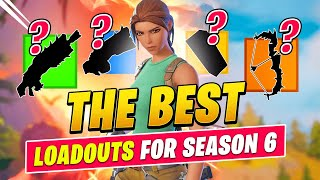 The BEST LOADOUTS In Fortnite Chapter 2 Season 6 You HAVE TO Use (Fortnite Tips & Tricks)