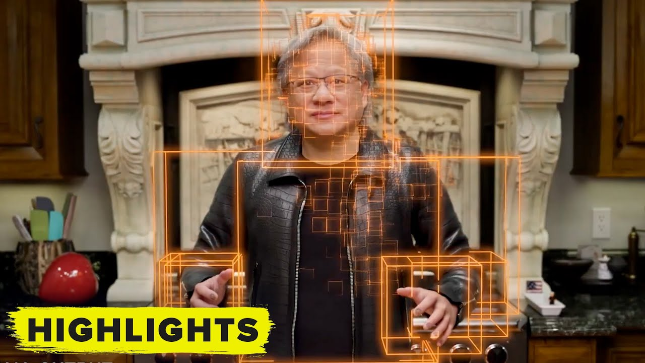 Download Watch Nvidia's Deep Fake of CEO Jensen Huang at GTC (Behind the Scenes)