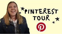 My Pinterest Tour! | How to organize your Pinterest boards