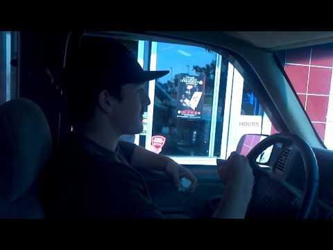 Coning at Burger King