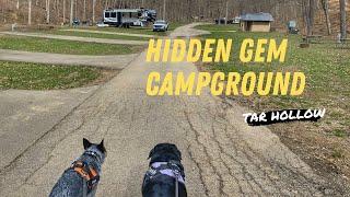 A hidden gem campġround - Tar Hollow State Park Ohio