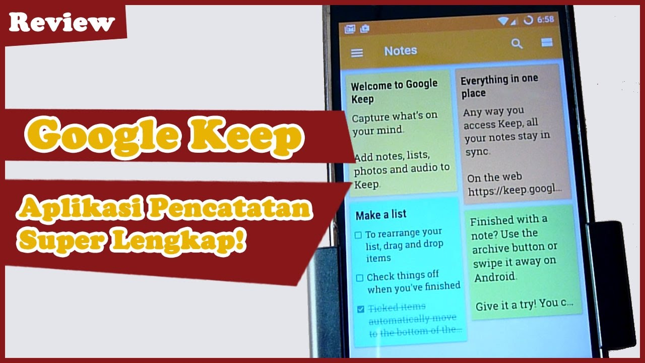TechnoWit: Google Keep: The super complete Android Note Taking app!