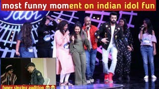 Indian idol 10 ||Indian idol 2018 singing audition  skid || funny ...