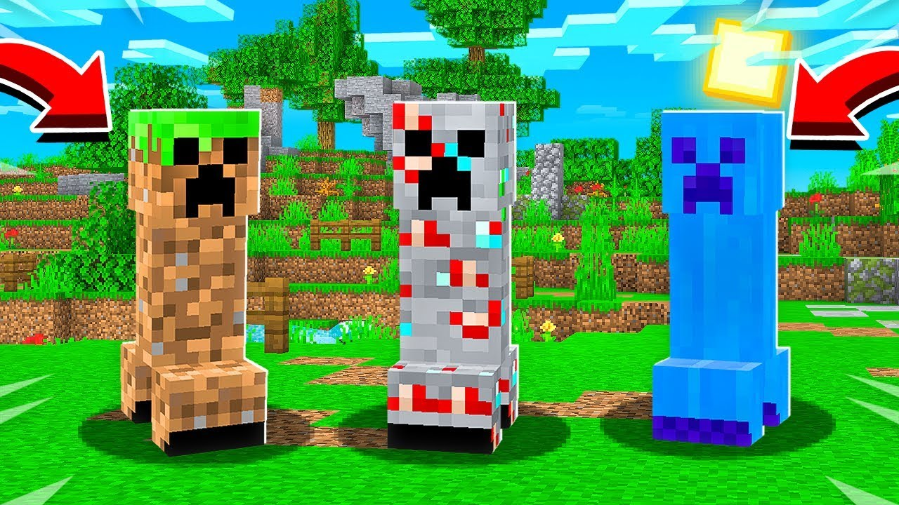 9 NEW CREEPERS THAT MINECRAFT NEEDS!