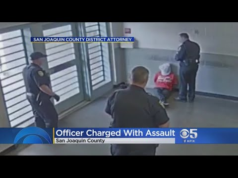 Video Released Showing California Correctional Officer Assaulting Handcuffed Man