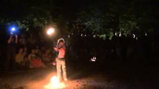 Фестиваль Тавале 2013. Мильченко Аня, файерщица (6 лет)