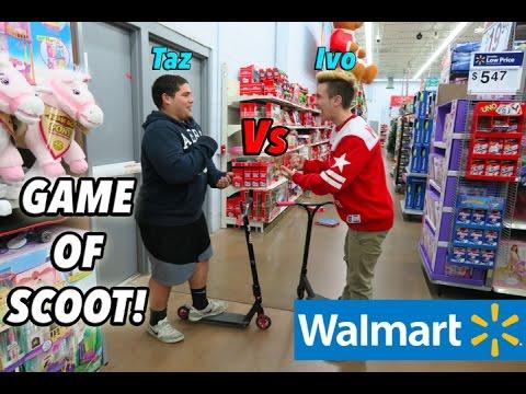 Walmart Game Of Scoot Youtube
