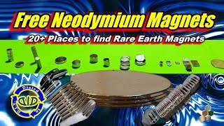 Free Neodymium Magnets - How To Find Strong Magnets Free