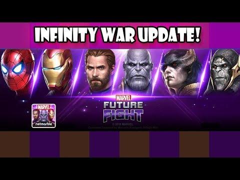 [MARVEL FUTURE FIGHT] Infinity War  Primeras Impresiones   NUEVO nivel 70, Tier 3 y Nuevos Trajes