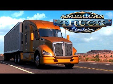 American Truck Simulator (HD 1080p 60 fps) - Покоряем Америку