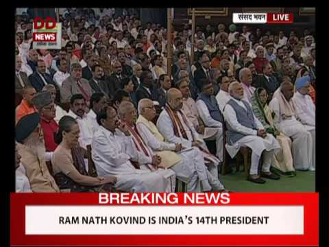 Ram Nath Kovind takes oath as 14th President of India