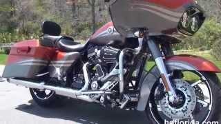 Used 2013 Harley Davidson CVO Road Glide Motorcycles for sale - Ocala, FL