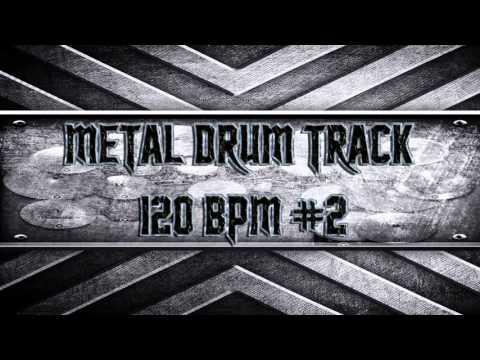 Nu-Metal Drum Track 120 BPM (HQ,HD)
