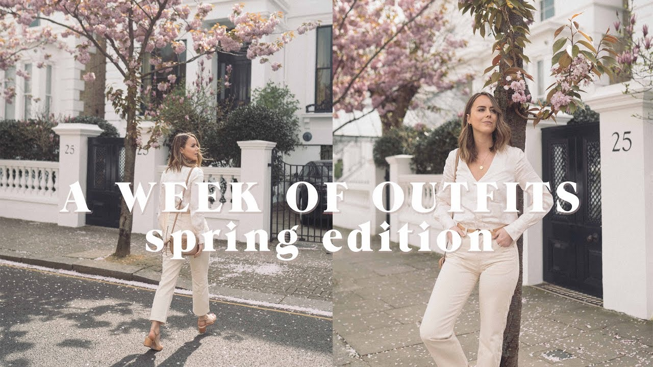 A WEEK OF OUTFITS | Spring edition | Laura Melhuish-Sprague 1