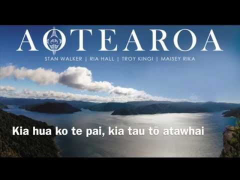 AOTEAROA   English Version Lyrics