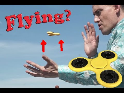 Insane Fidget Spinner Levitation Tricks by *** Special Head ***