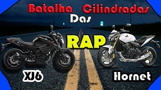 HORNET VS XJ6 - RAP - BATALHA DAS CILINDRADAS | COMENTE QUEM GANHOU | thumbnail