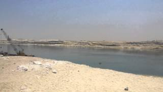 New Suez Canal: the opening platform area June 2015