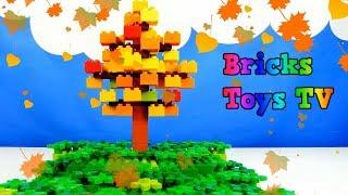Lego Duplo Tree, Lego Duplo The Seasons - Лего Дупло дерево, Лего времена года. Строим из Lego Duplo