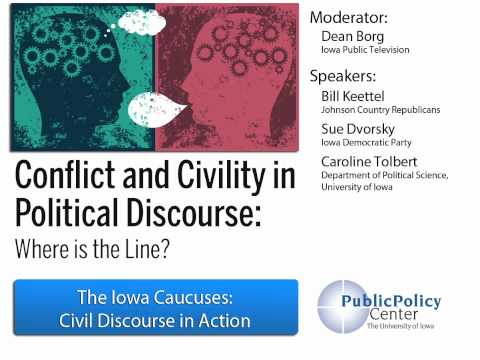 Political Discourse | The Iowa Caucuses: Civil Discourse in Action