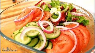 Summer Weight Loss Salad  Best in the world  salad recipe Chef Ricardo Juice Bar