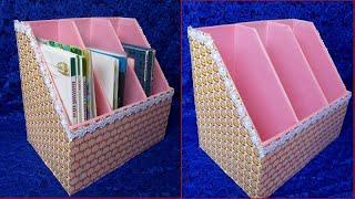как сделать из коробки книгу