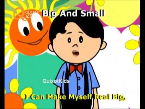Big And Small Song Nursery Rhymes With Lyrics For Kids