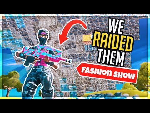I STREAM SNIPED FASHION SHOWS WITH A HOT DOG ARMY