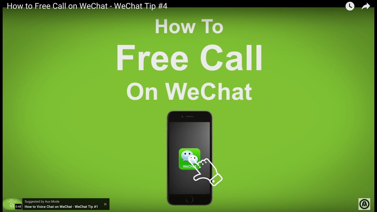 How to Free Call on WeChat - WeChat Tip #4