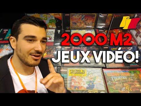 LA PLUS GRANDE VENTE RETROGAMING DE BELGIQUE (2000 m2 de Jeux Vidéo)