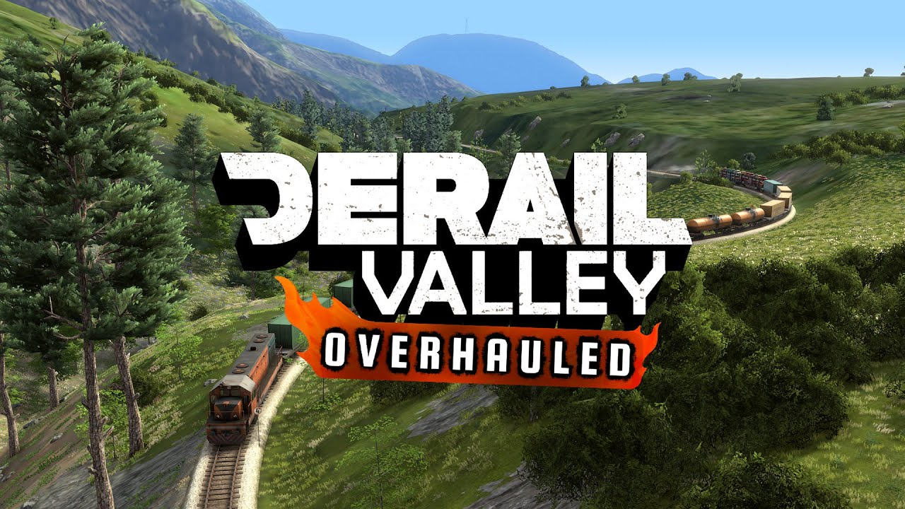 Derail Valley: Overhauled - Trailer / May 21, 2020 - YouTube