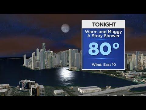 CBSMiami.com Weather 8/18 5PM