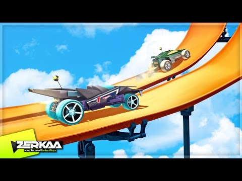 NEW FAVOURITE MOBILE GAME!? (Hot Wheels: Race Off)