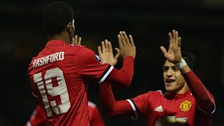 Video Gol Pertandingan Yeovil Town vs Manchester United