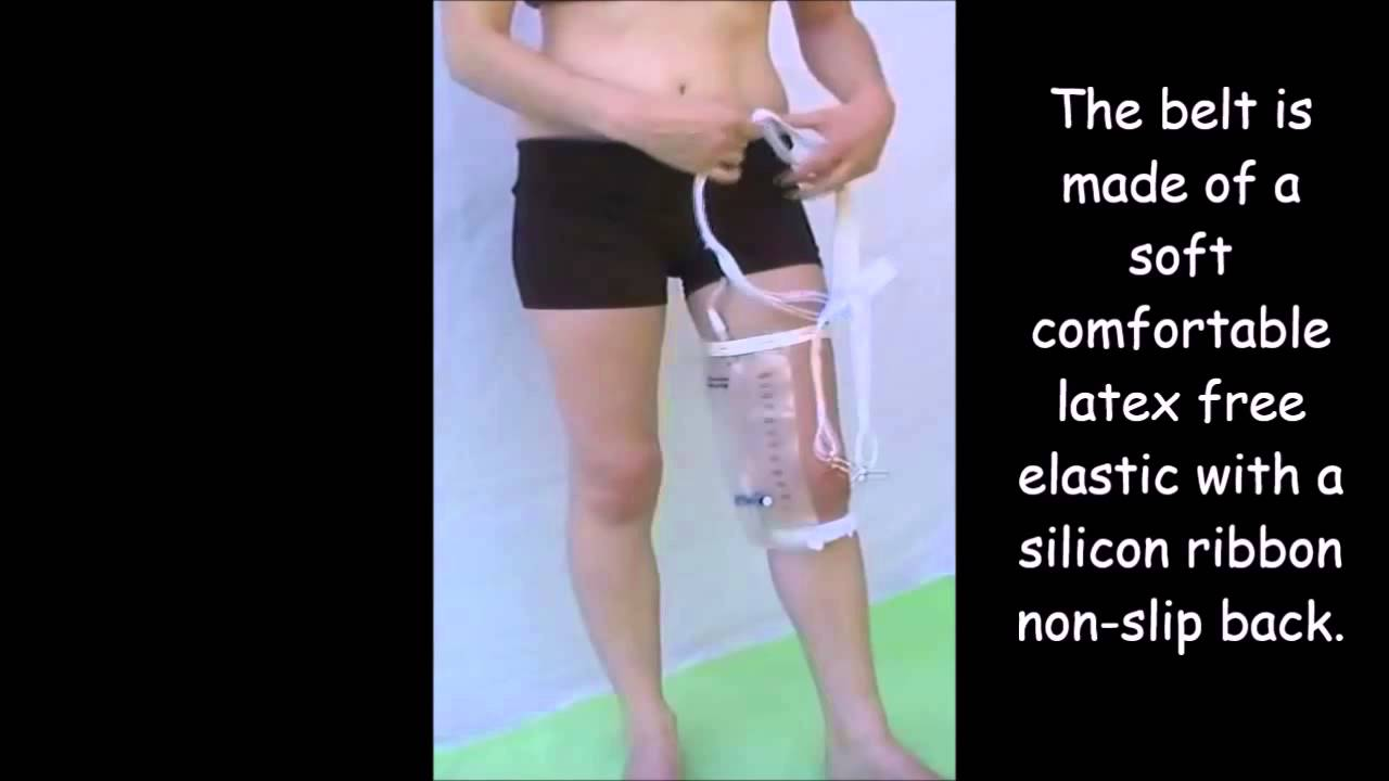 Catheter Leg Bag Holder Youtube