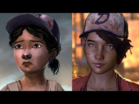 SHE'S OLD NOW Omg 😮😮😮😮😮😮😮😮😮 - The Walking Dead / Season 4 / Last Season / PART 1