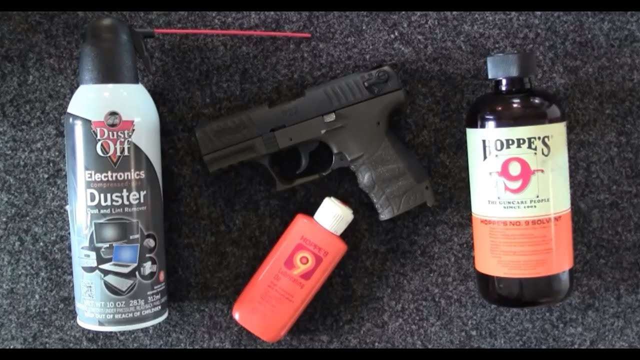 how to clean walther p22 magazine