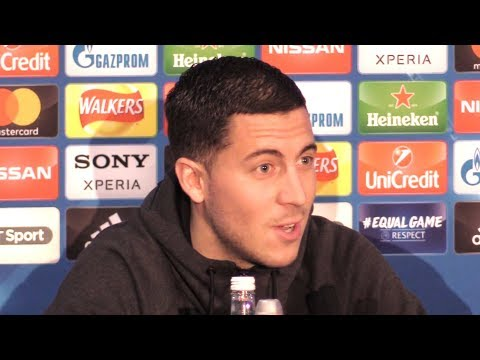Eden Hazard Full Pre-Match Press Conference - Chelsea v Barcelona - Champions League