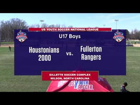 2016 National League - Boys - U17 - Houstonians 2000 vs Fullerton Rangers - Field 3 - Day 3 - 2pm