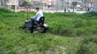 çim biçme aracı wed cutter vehicle iyte 2009